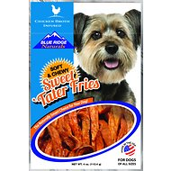 Blue Ridge Naturals Chicken Broth Infused Sweet Tater Fries Dog Treats, 4-oz bag