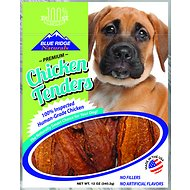 Blue Ridge Naturals Chicken Tenders Dog Treats, 12-oz bag