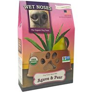 Wet Noses Agave & Pear Dog Treats, 14-oz box