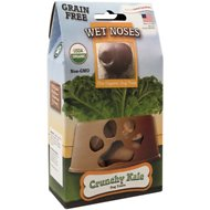 Wet Noses Grain Free Crunchy Kale Dog Treats, 1.5-oz box