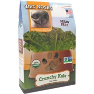 Wet Noses Grain Free Crunchy Kale Dog Treats, 14-oz box