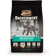 Merrick Backcountry Raw Infused Game Bird Recipe with Chicken, Duck & Quail Dry Cat Food, 10-lb bag