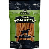 "Redbarn Naturals Bully Stick 7"" Dog Treat, 6 count"