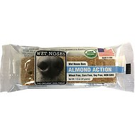 Wet Noses Almond Action Bar Dog Treats, 1.5-oz bar