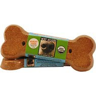 Wet Noses Apples & Carrots Big Bone Dog Treats, 2-oz bar