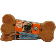 Wet Noses Pumpkin Big Bone Dog Treats, 2-oz bar
