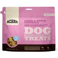 ACANA Lamb & Apple Singles Formula Dog Treats, 3.25-oz bag