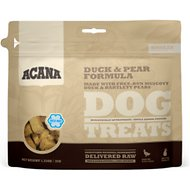ACANA Duck & Pear Singles Formula Dog Treats, 1.25-oz bag