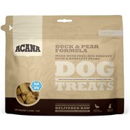 ACANA Duck & Pear Singles Formula Dog Treats, 3.25-oz bag