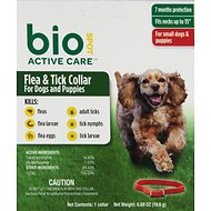 Bio Spot Active Care Flea & Tick Collar for Dogs, Small