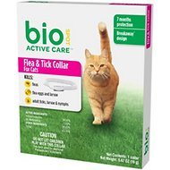 Bio Spot Active Care Breakaway Flea & Tick Collar for Cats & Kittens