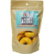 Howl's Kitchen Bacon, Egg & Cheese Bagels Dog Treats, 6 count