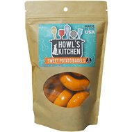 Howl's Kitchen Sweet Potato Bagels Dog Treats, 6 count