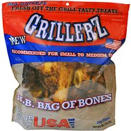 Grillerz Bag of Bones Dog Treats, 3-lb bag