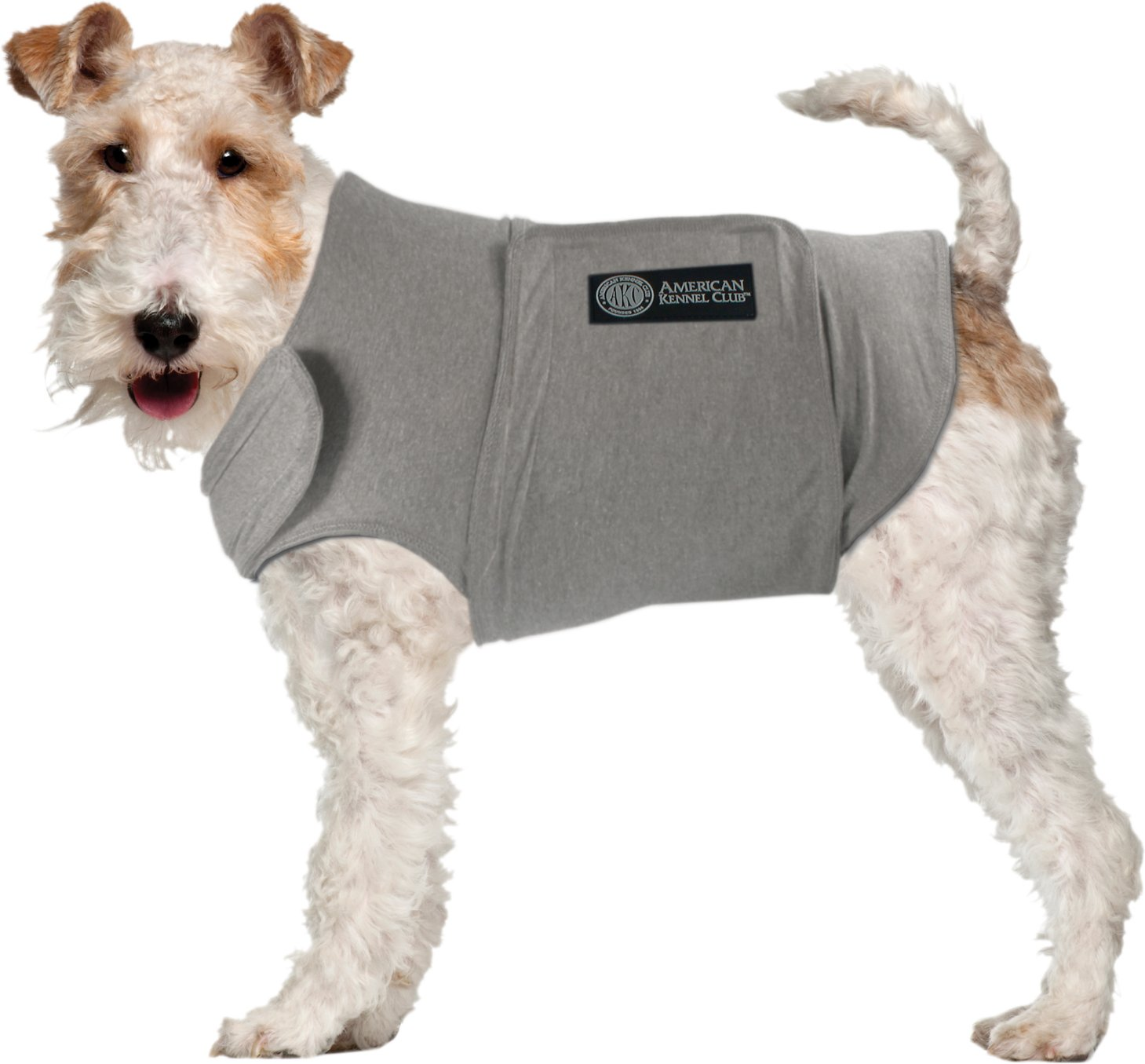 Calming Coat for Dogs, Grey, Large - Chewy.com