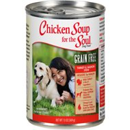 Chicken Soup for the Soul Turkey & Salmon Stew Grain-Free Canned Dog Food, 13-oz, case of 12