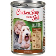 Chicken Soup for the Soul Chicken & Duck Stew Grain-Free Canned Dog Food, 13-oz, case of 12