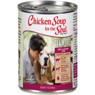 Chicken Soup for the Soul Beef & Legumes Stew Grain-Free Canned Dog Food, 13-oz, case of 12