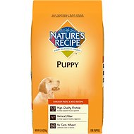 Nature's Recipe Puppy Chicken Meal & Rice Recipe Dry Dog Food, 4.5-lb bag