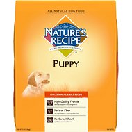 Nature's Recipe Puppy Chicken Meal & Rice Recipe Dry Dog Food, 15-lb bag