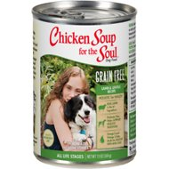 Chicken Soup for the Soul Limited Ingredient Diet Lamb & Lentils Recipe Grain-Free Canned Dog Food, 13-oz, case of 12