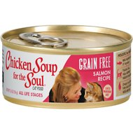Chicken Soup for the Soul Limited Ingredient Diet Salmon Recipe Grain-Free Canned Cat Food, 5.5-oz, case of 24