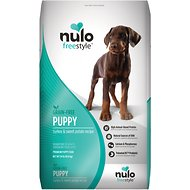 Nulo FreeStyle Grain-Free Turkey & Sweet Potato Recipe Puppy Dry Food, 24-lb bag