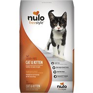 Nulo FreeStyle Grain-Free Turkey & Duck Recipe Cat & Kitten Dry Cat Food, 12-lb bag