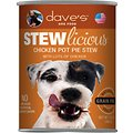 Dave's Pet Food Stewlicious Grain-Free Chicken Pot Pie Stew Canned Dog Food