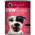 Dave's Pet Food Stewlicious Luscious Lamb Stew Canned Dog Food