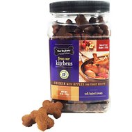 Three Dog Bakery Kitchens Chicken with Apples Soft Baked Dog Treats, 26-oz jar