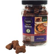 Three Dog Bakery Kitchens Duck with Cranberries Soft Baked Dog Treats, 26-oz jar