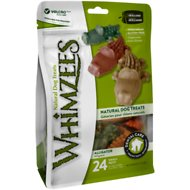 WHIMZEES Alligator Dental Dog Treats, Small, 24 count