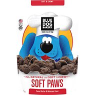 Blue Dog Bakery Soft Paws Peanut Butter & Molasses Dog Treats, 6-oz bag