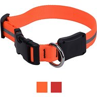 Nite Ize NiteDawg LED Light-Up Dog Collar, Orange, Large