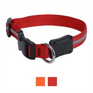 Nite Ize NiteDawg LED Light-Up Dog Collar, Red, Medium