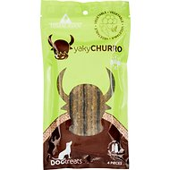 Himalayan Dog Chew Yaky Churro Vegetable Dog Treats, 4 count