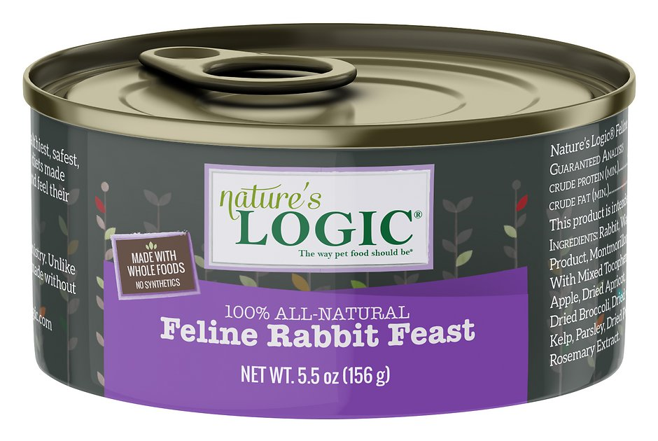 Nature S Logic  Rabbit Cat Food