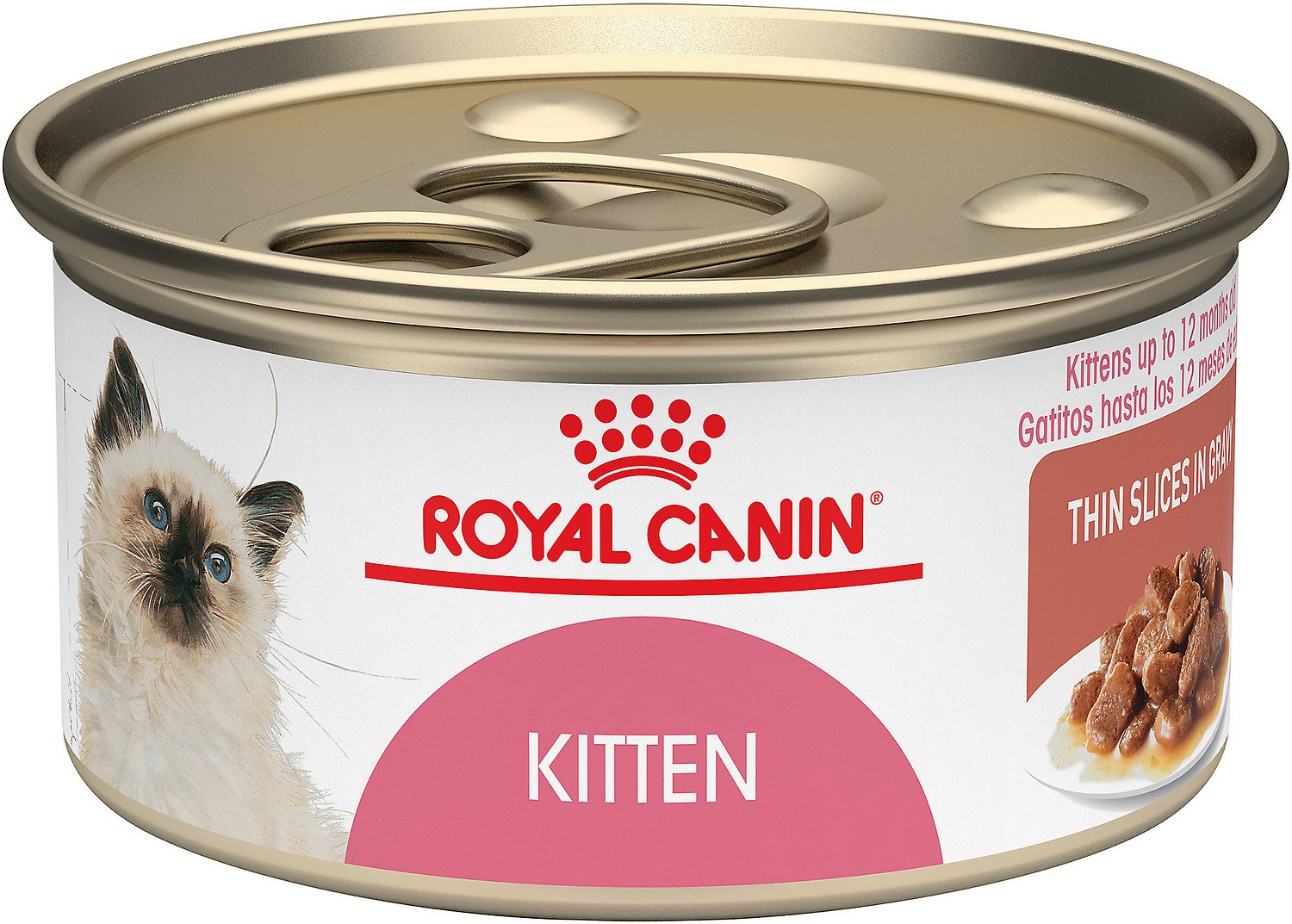 royal canin kitten instinctive thin slices in gravy canned cat food 3 oz case of 12. Black Bedroom Furniture Sets. Home Design Ideas