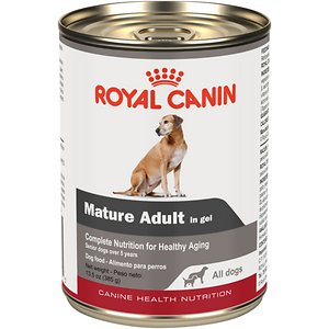 Royal Canin Mature Adult in Gel Canned Dog Food, 13.5-oz, case of 12