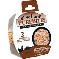 PureBites Whole Food 100% Tuna & Chicken in Water Cat Food Trays, 1.76-oz, case of 12