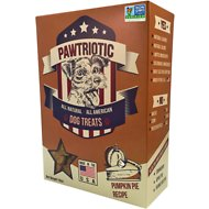 Pawtriotic Pumpkin Pie Dog Treats, 16-oz box