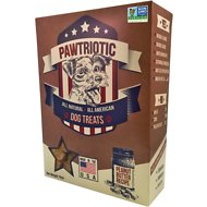 Pawtriotic Peanut Butter Dog Treats, 16-oz box