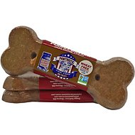 Pawtriotic Peanut Butter Big Bone Dog Treats, 2-oz bar