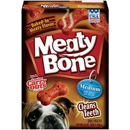 Meaty Bone Medium Dog Treats, 64-oz bag