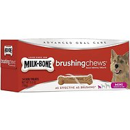 Milk-Bone Mini Brushing Chews Daily Dental Dog Treats, 14 count