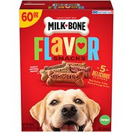Milk-Bone Flavor Snacks Large Biscuit Dog Treats, 60-oz box