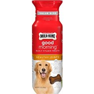 Milk-Bone Good Morning Healthy Joints Daily Vitamin Dog Treats, 15-oz bottle