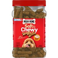 Milk-Bone Soft & Chewy Chicken Recipe Dog Treats, 25-oz tub