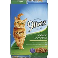 9 Lives Indoor Complete Dry Cat Food, 12-lb bag